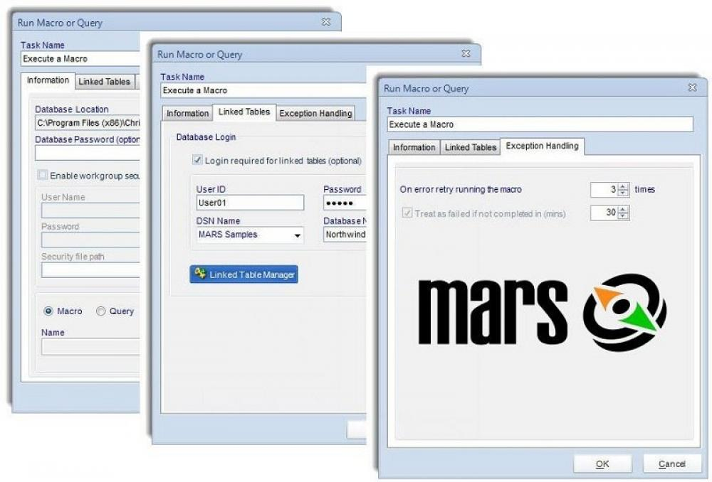 MARS Automation For MS Access 7.0.20190612 (Shareware 877.84Mb)