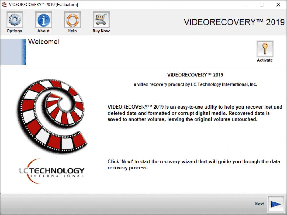 VIDEORECOVERY Standard for Mac 5.1.9.7 (Demo 24.87Mb)