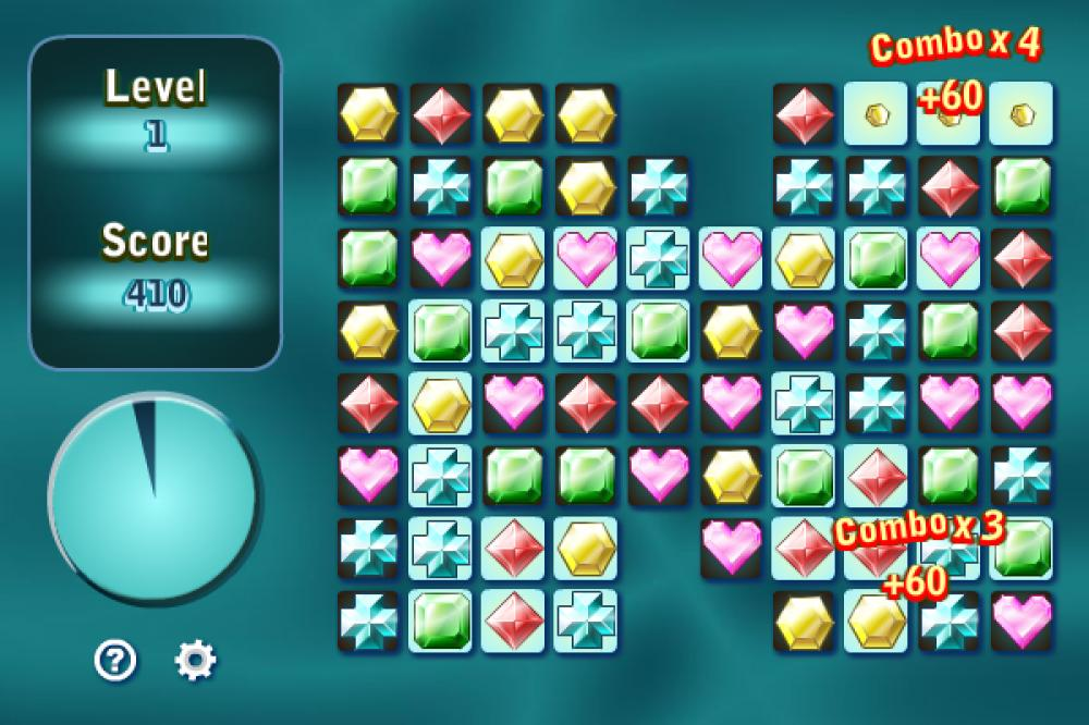 Gems Swap II 1.4.3 (Freeware 0.29Mb)