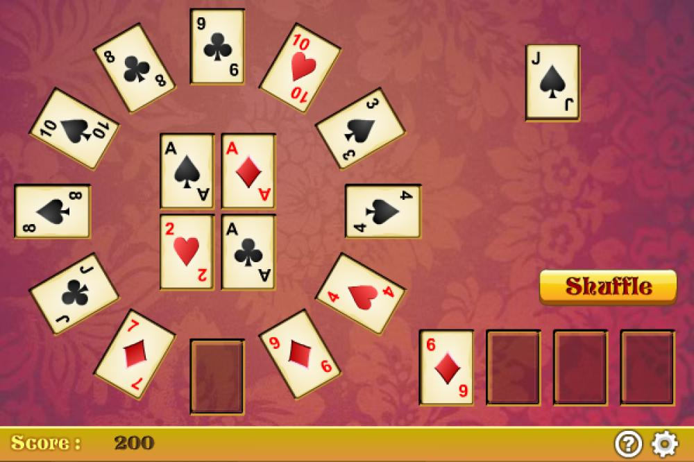 Switchback Solitaire 1.2.2 (Freeware 0.29Mb)