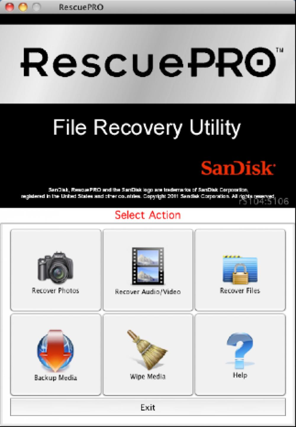 RescuePRO Standard for Mac 6.0.3.1 (Demo 32.52Mb)