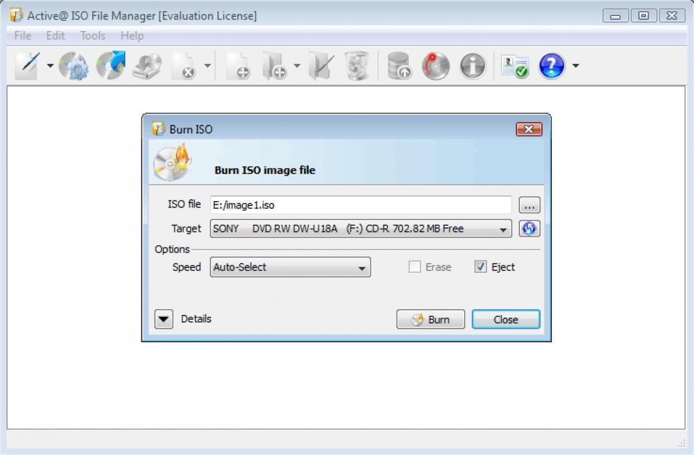 Active@ ISO Manager 7.0 (Freeware 12.61Mb)
