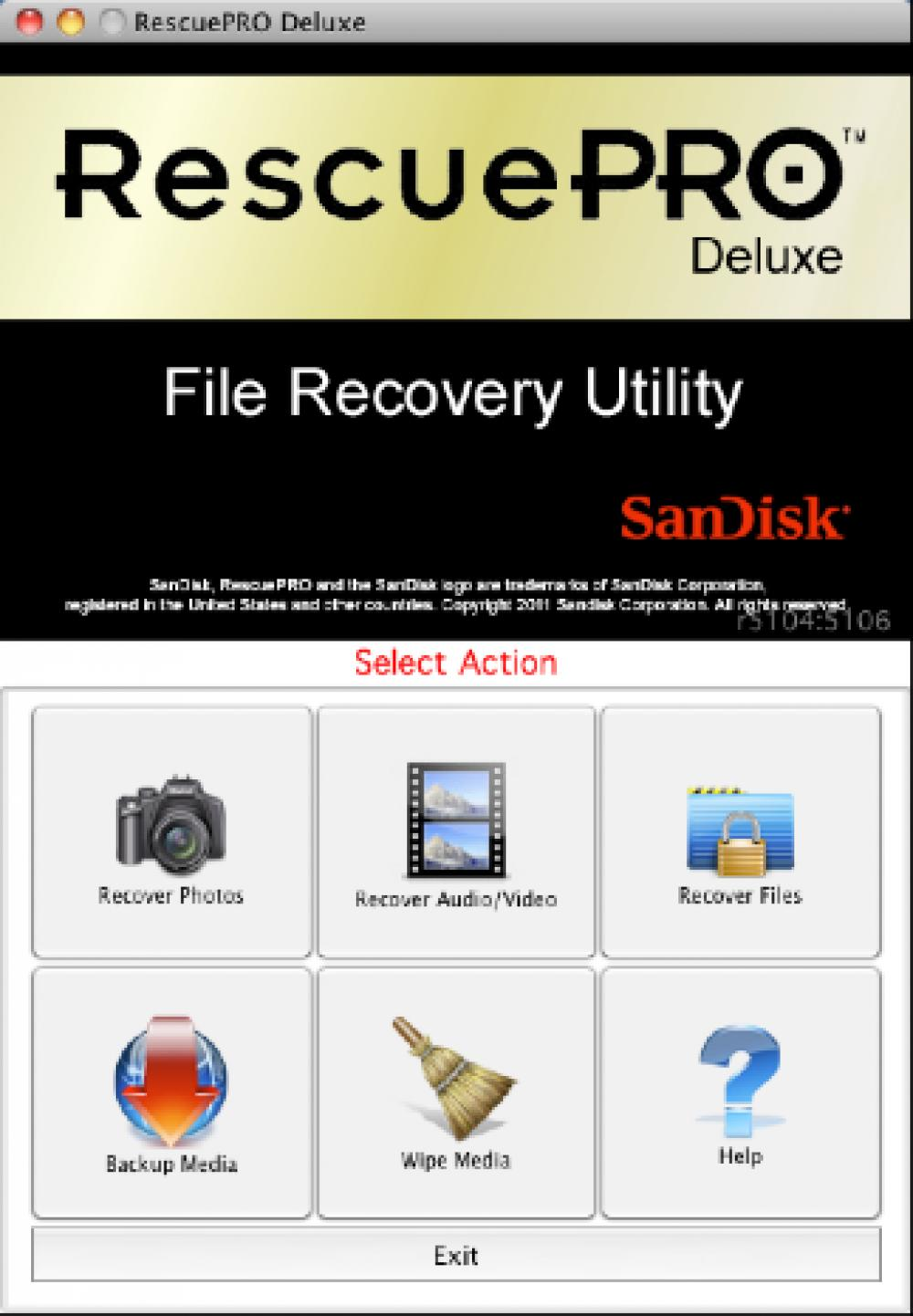 RescuePRO Deluxe for Mac 6.0.3.1 (Demo 29.87Mb)