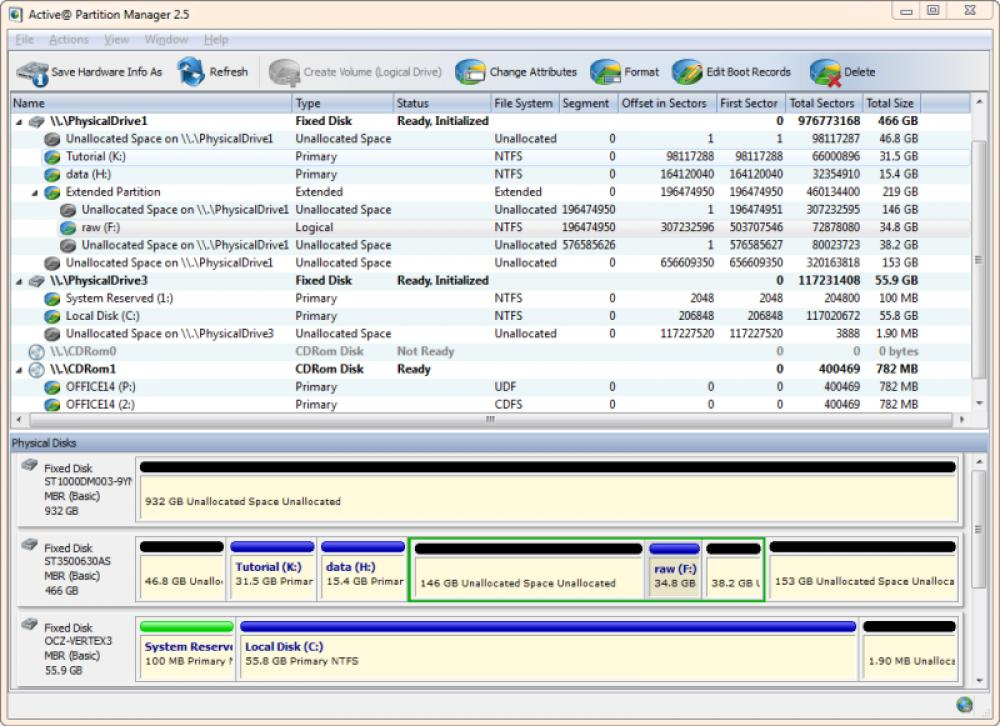 Active Partition Manager 6.0.15.0 (Freeware 19.46Mb)