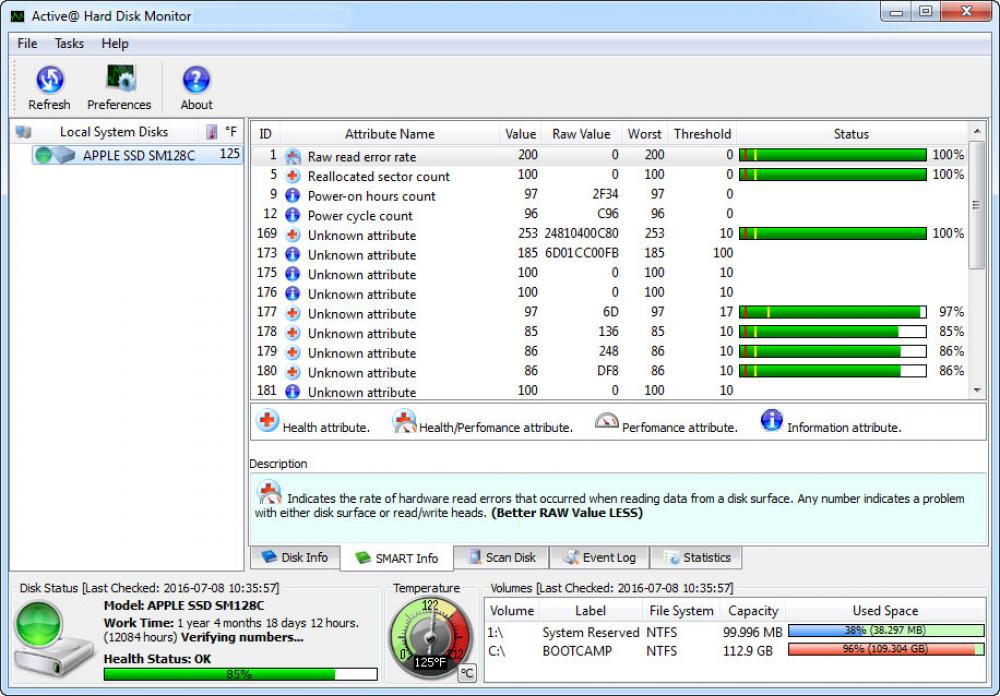 Active@ Hard Disk Monitor 5.0.4.0 (Freeware 13.07Mb)