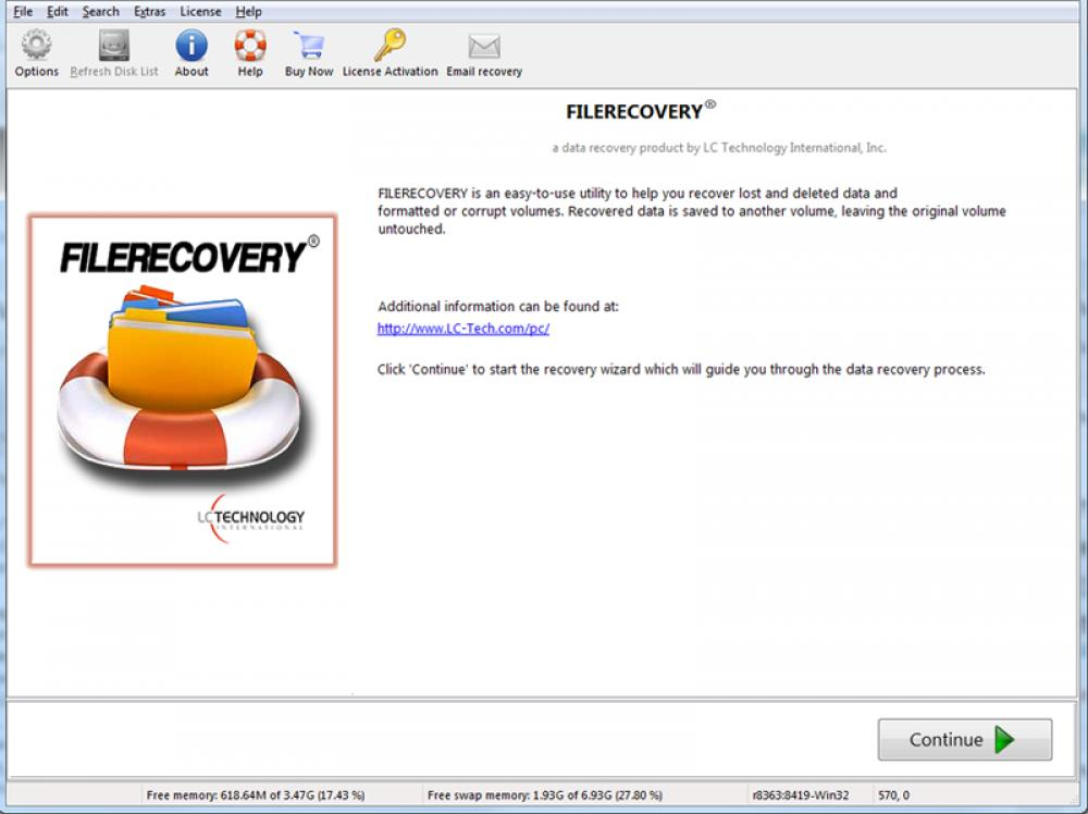 FILERECOVERY 2019 Standard for Windows 5.6.0.5 (Demo 7.15Mb)