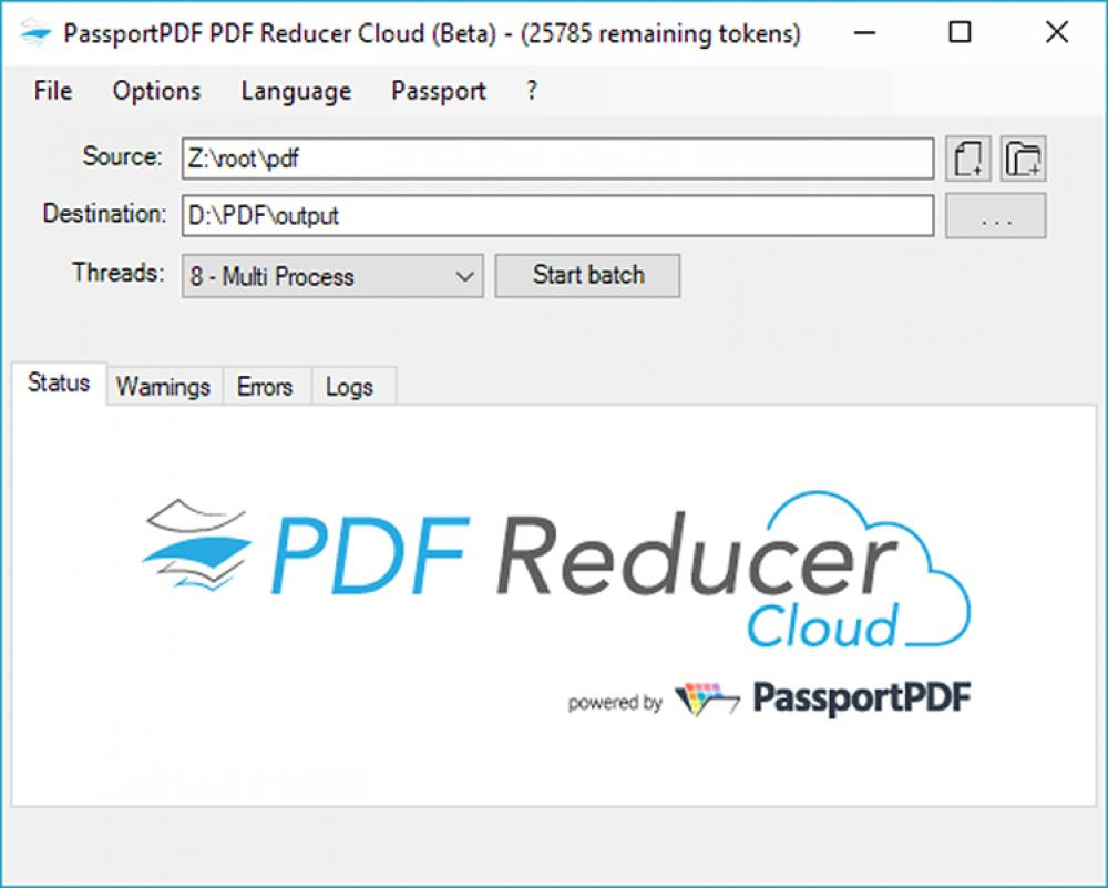 PDF Reducer Cloud 1.0.14.0 (Freeware 3.01Mb)