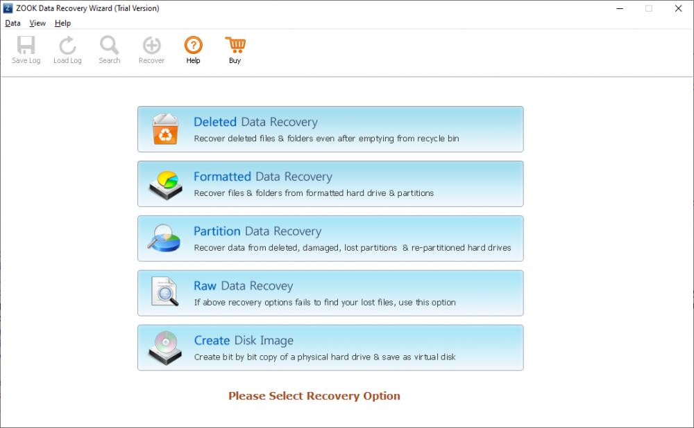 ZOOK Data Recovery Software 4.0 (Shareware 2.98Mb)