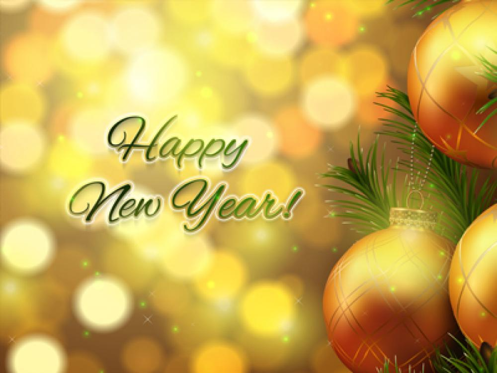 New Year Decoration Screensaver 2.0 (Freeware 3.97Mb)